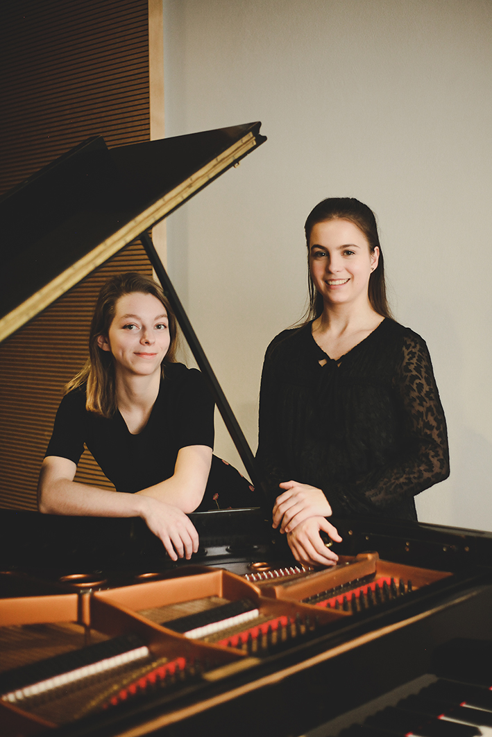 Junge Talente - Klavierduo Zaitceva-Richter