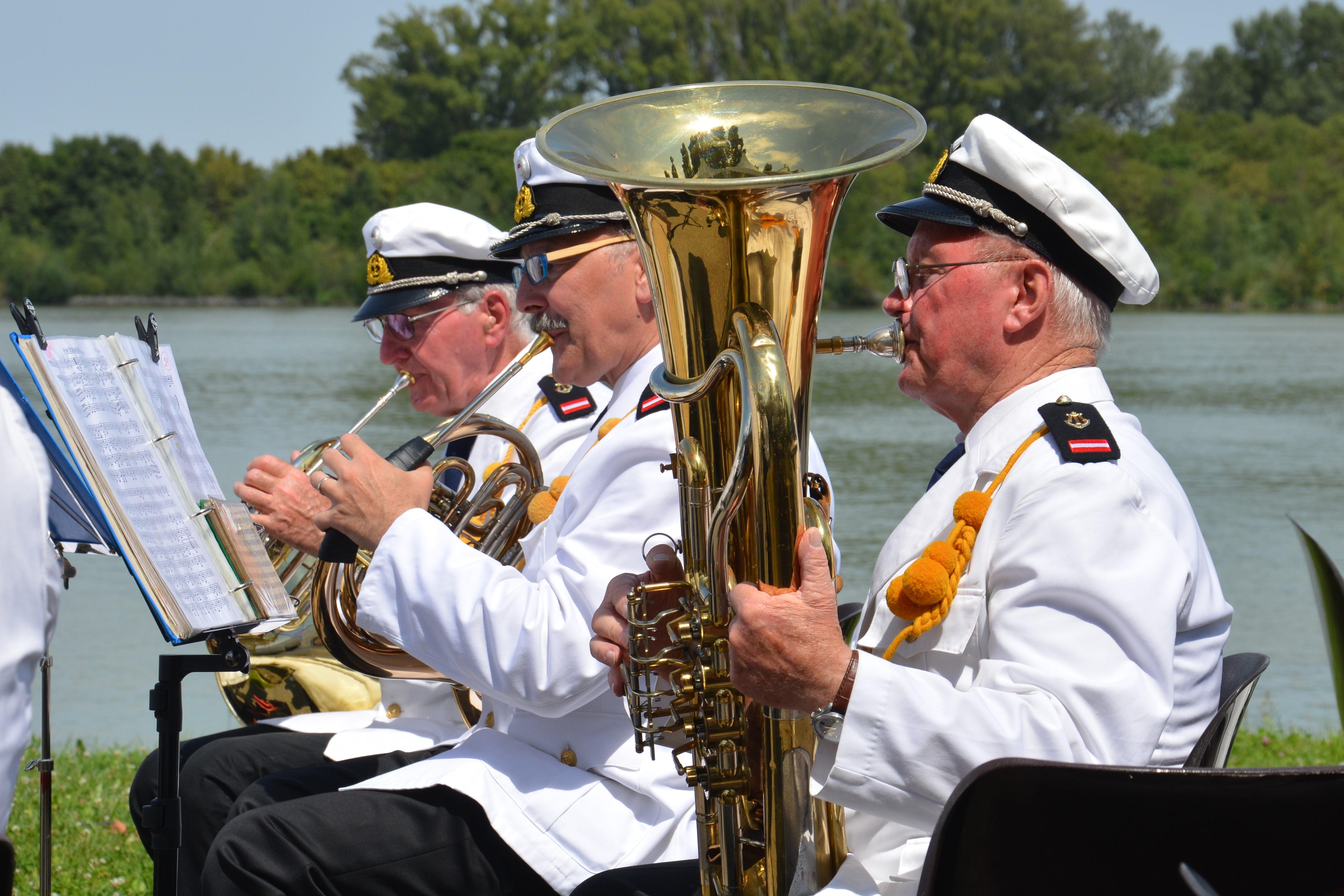 Konzert der Marinetraditionsmusik Wien