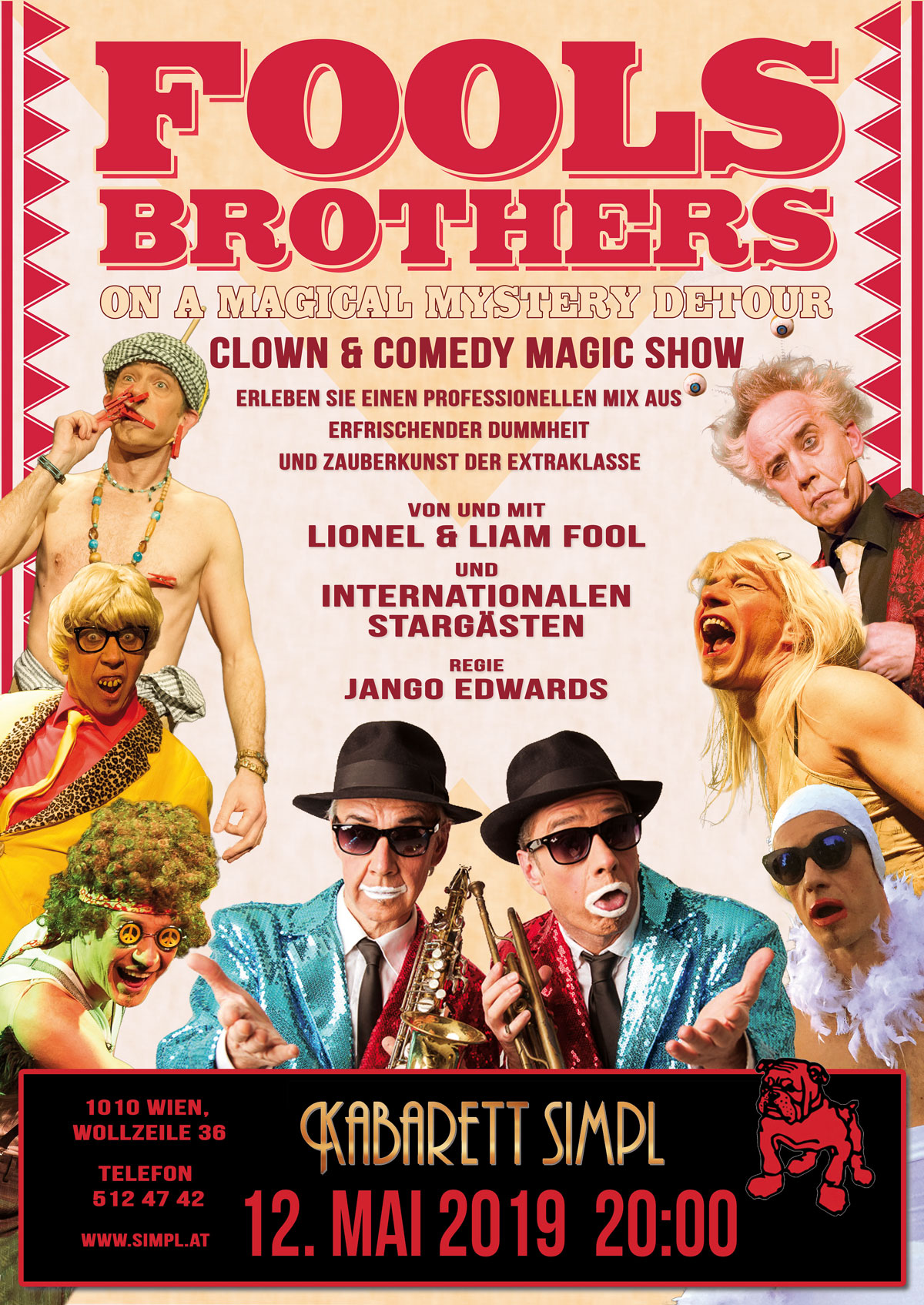 Fools Brothers - On A Magical Mystery Detour Comedy Magic Show