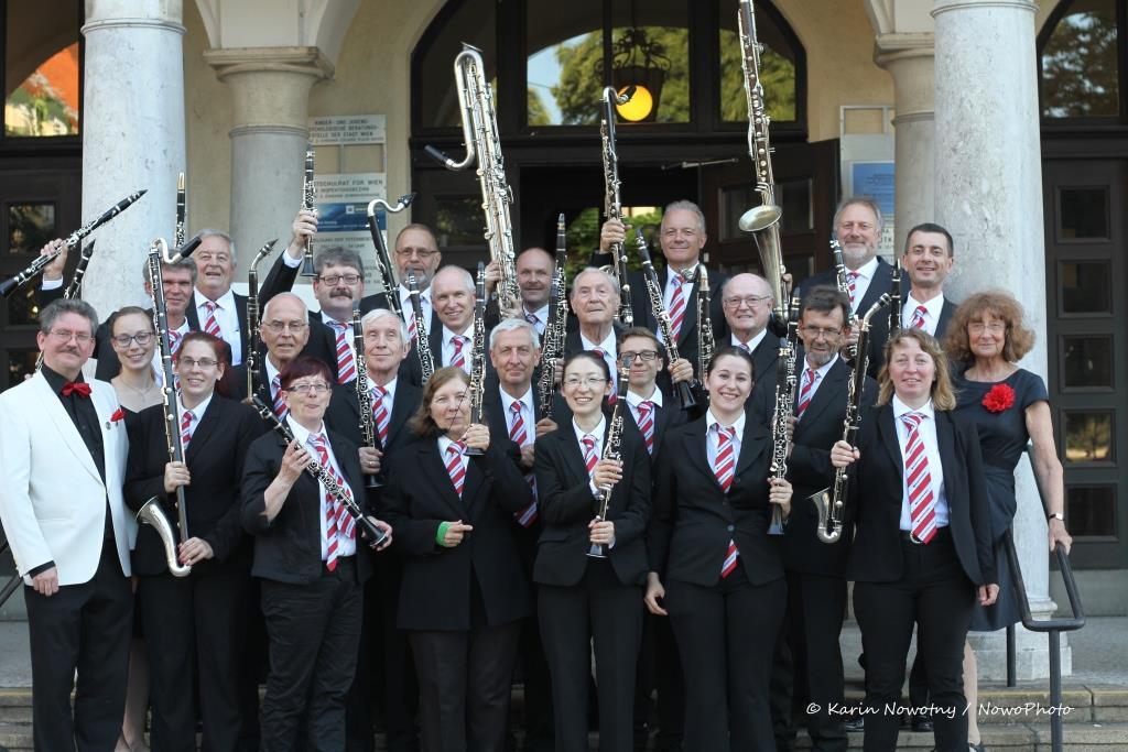Konzert des Wiener Klarinetten-Orchesters