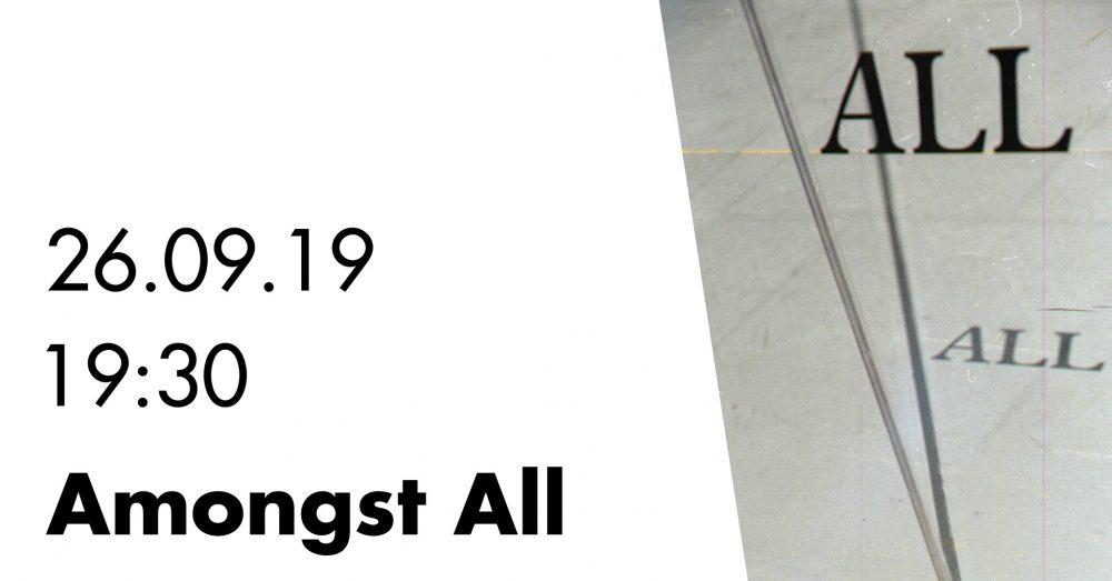 Amongst all // Performance // Kulturcafé Max