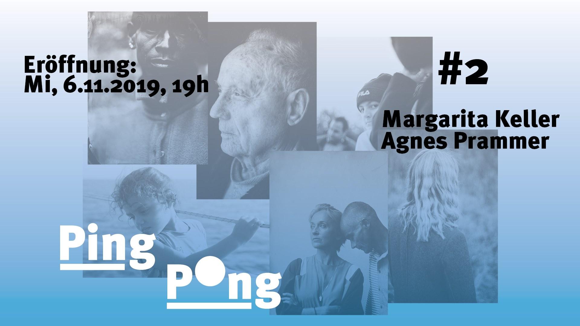 Eröffnung PING PONG #2: Margarita Keller & Agnes Prammer