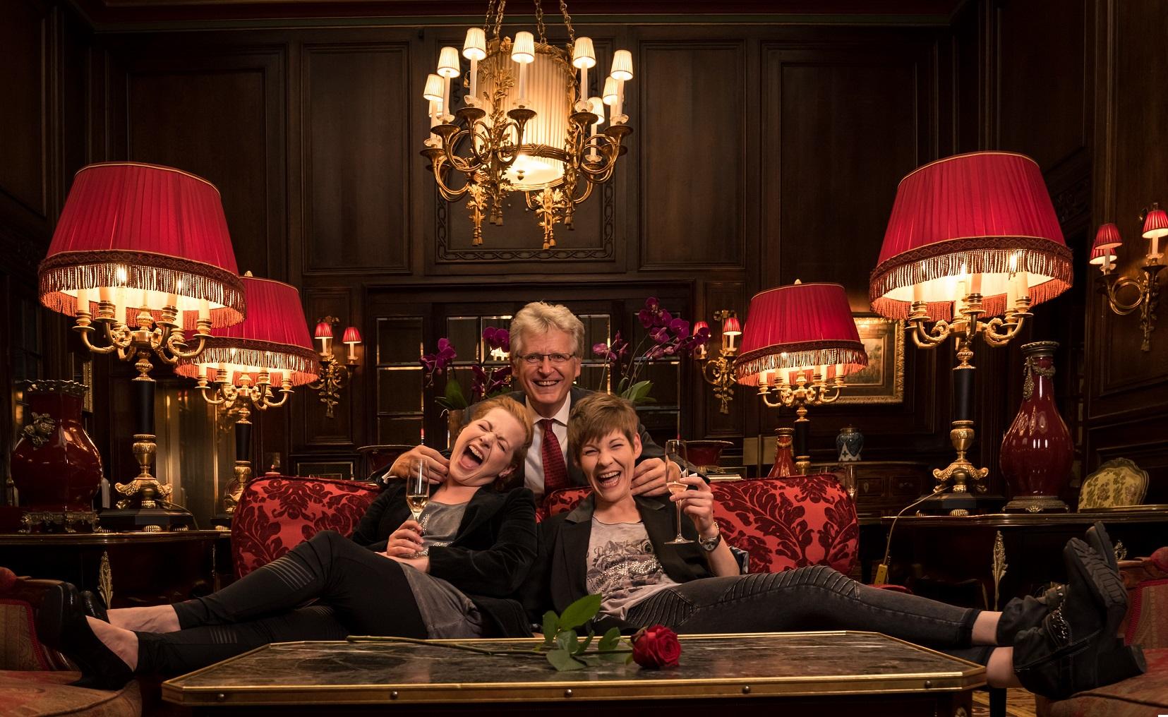 Charmantes mit Gerhard Blaboll, Andrea Schlor und Saskia Fanta