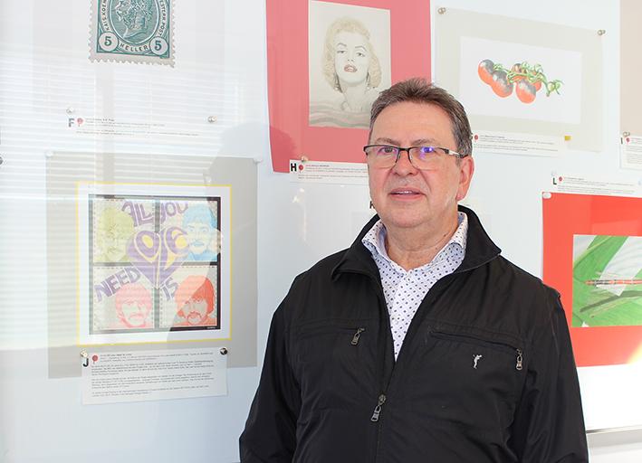 Basis.Kunstmesse in den Bezirken - Werner Otto Egelhofer