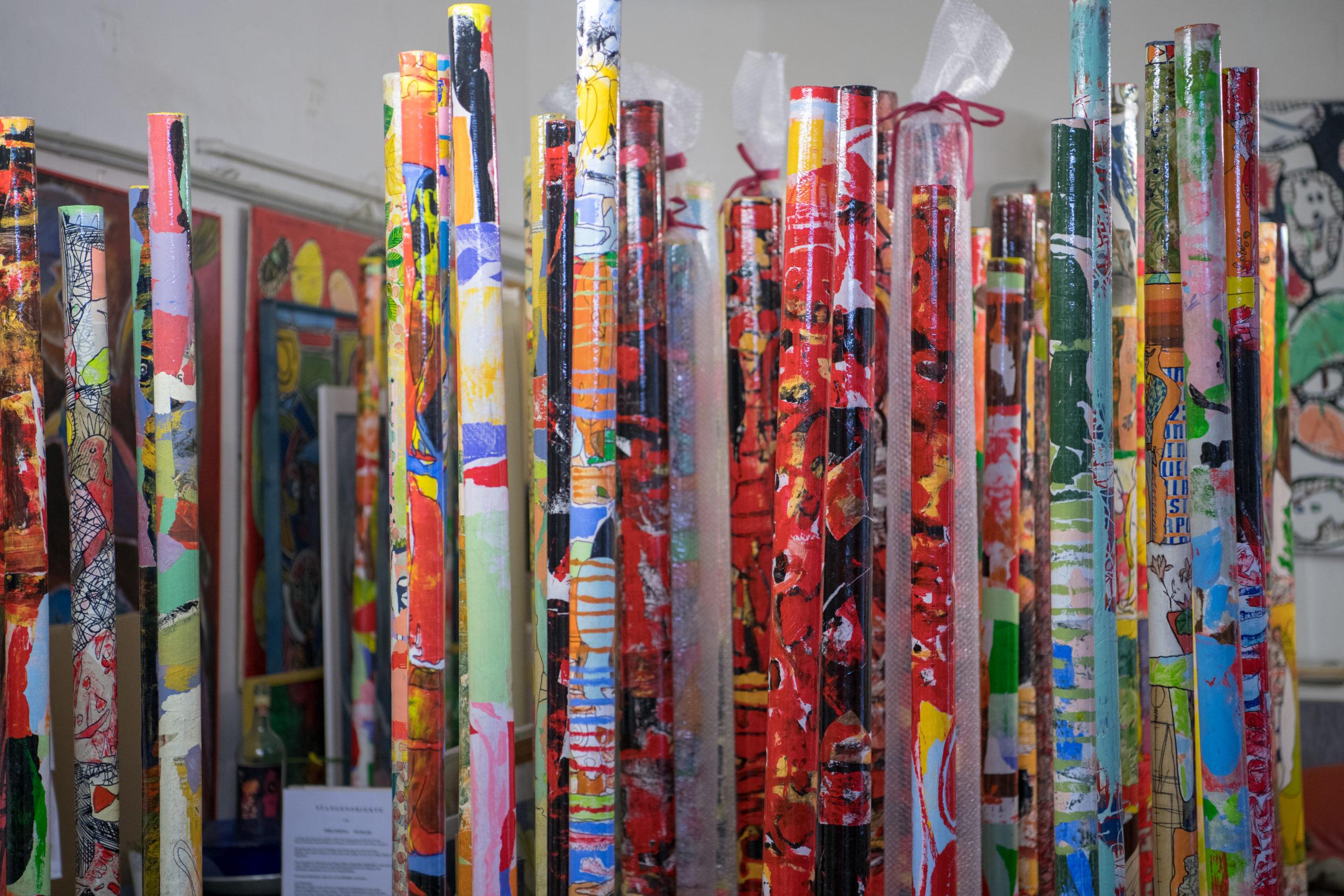 Basis.Kunstmesse in den Bezirken - Philomena Pichler