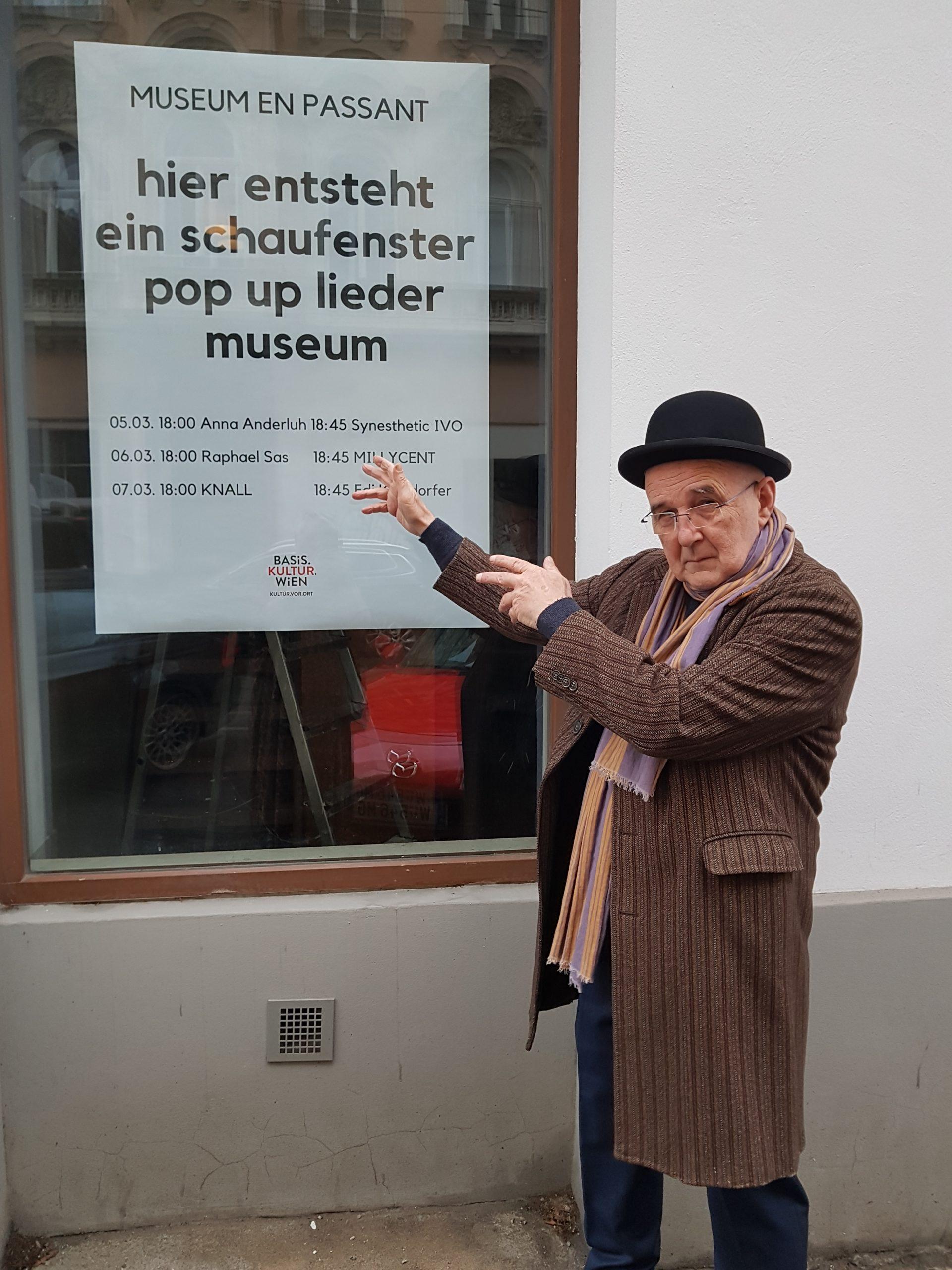 MUSEUM EN PASSANT - POP-UP LIEDER-MUSEUM IN WIEDEN!