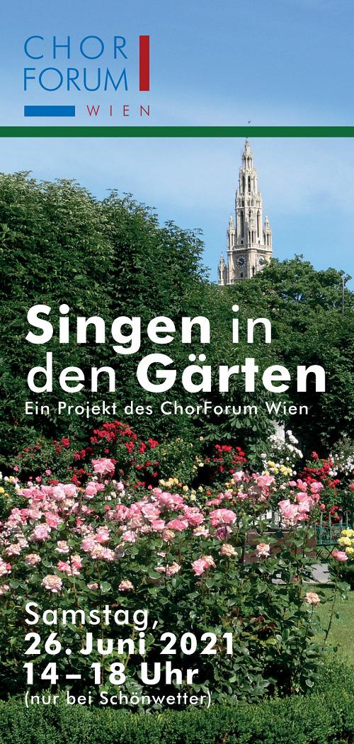 Singen in den Gärten