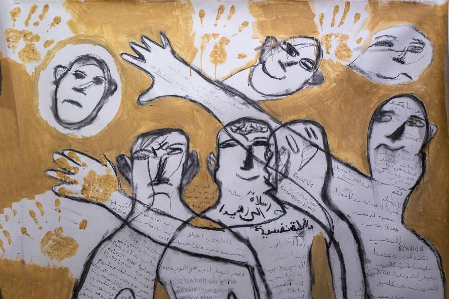 'Kalaschnikow – mon amour'. Männerwelt(en) in Bildern und Skulpturen.   23. bis 26 Juni am Burjanplatz