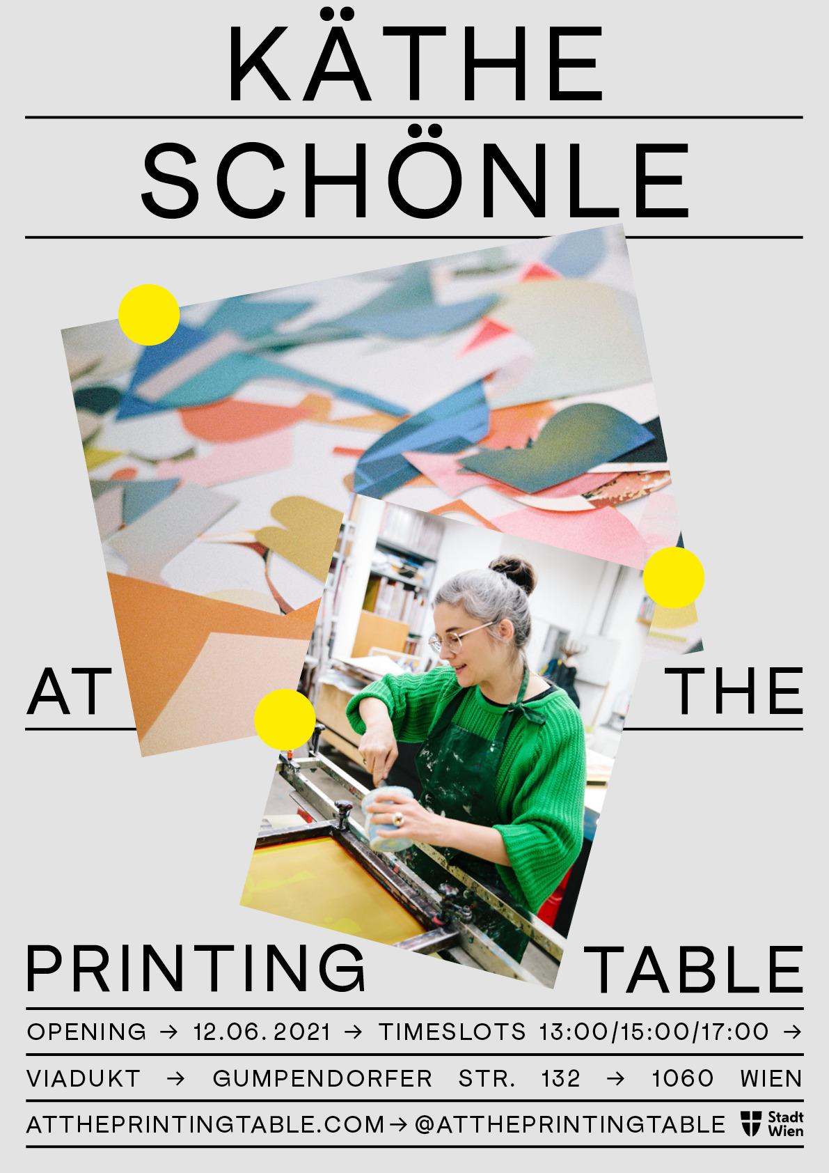 Eröffnung: Käthe Schönle At The Printing Table