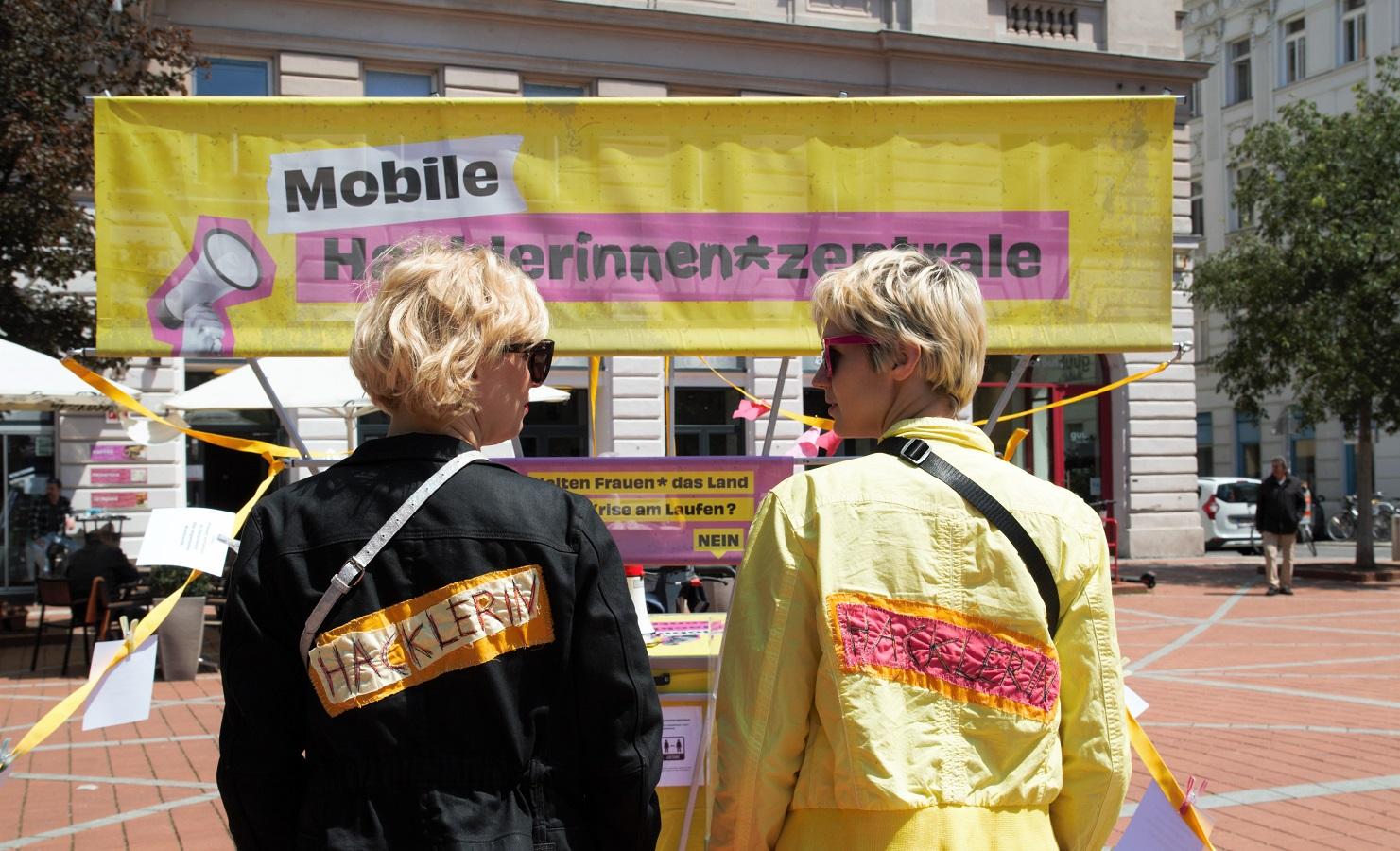 Mobile Hackleinnen*zentrale