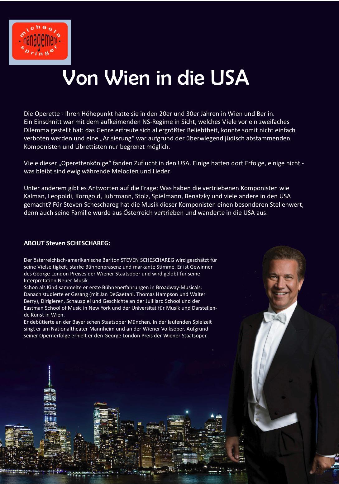 Von Wien in die USA