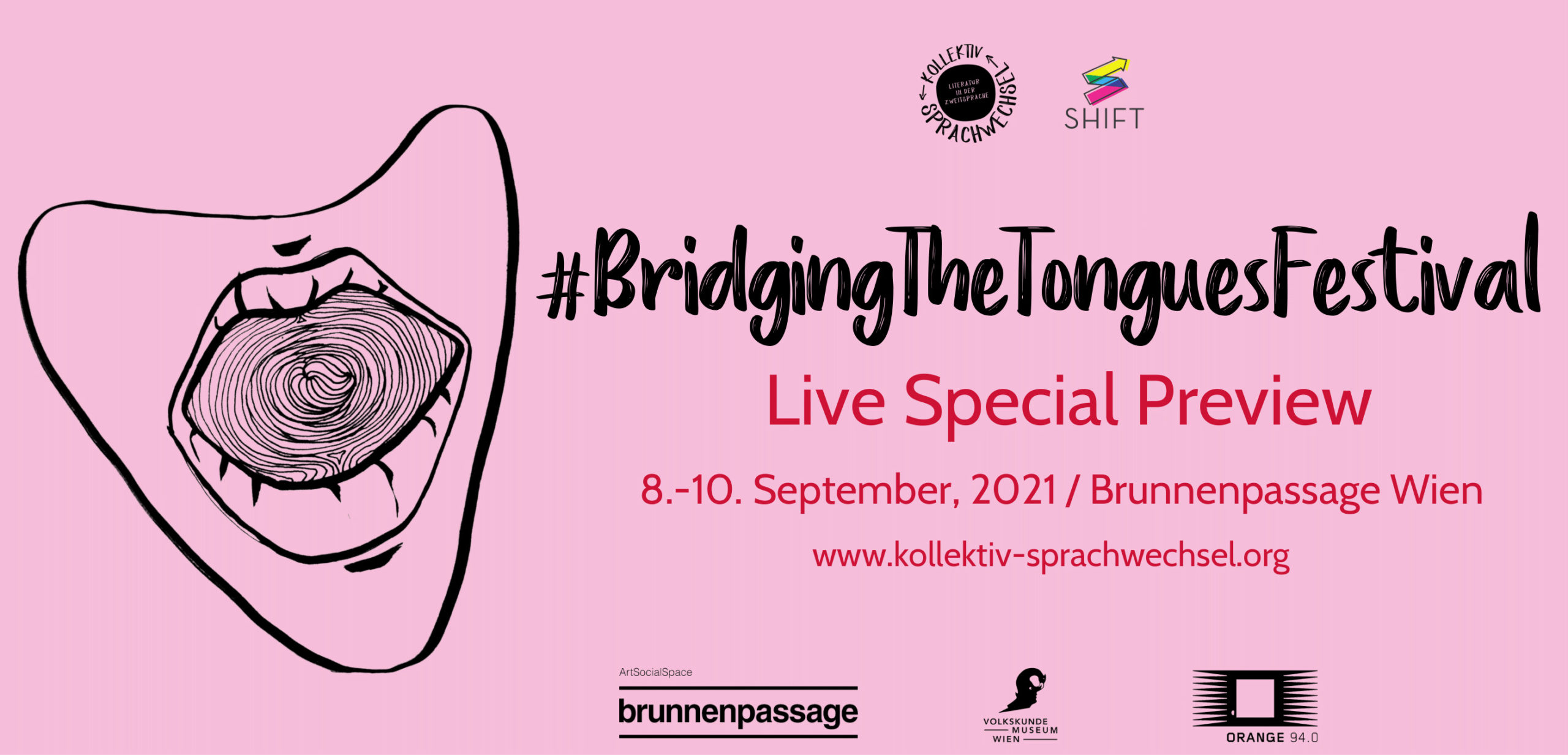 Bridging the Tongues Live Special Preview | 8. bis 10. September