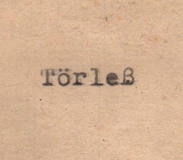 Logo Törleß